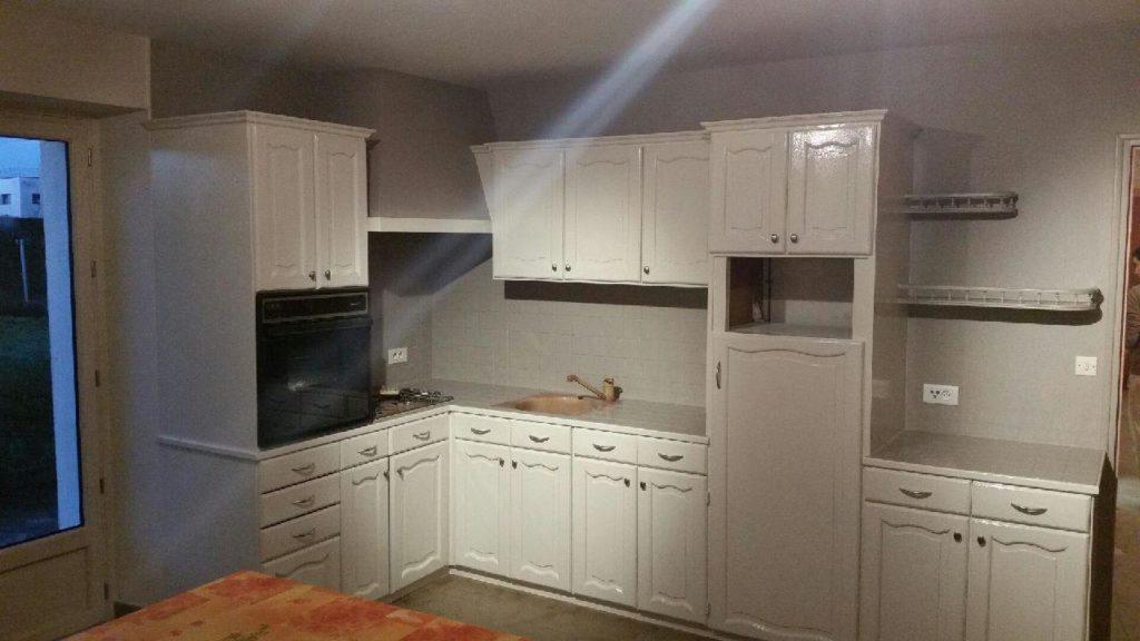 Travaux de modernisation d'une cuisine : après